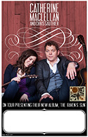 Catherine MacLellan and Chris Gauthier Tour Poster