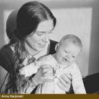 Credit: Anna Karpinski - Catherine holding baby Isabel