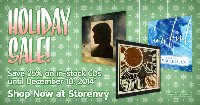 25% off Holiday Sale until December 10!