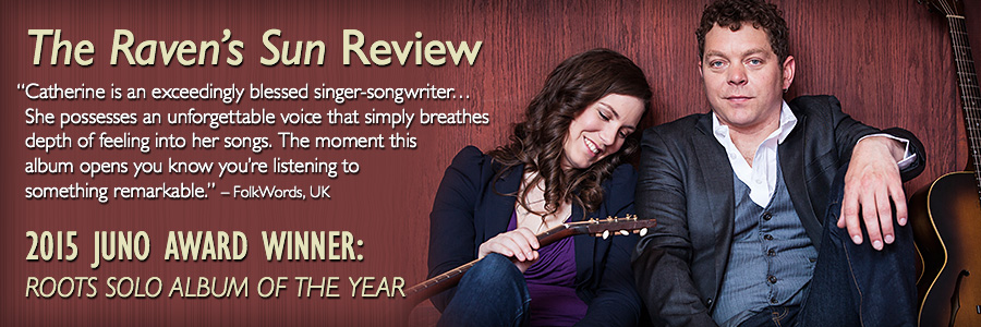 FolkWords Review with Catherine MacLellan and Chris Gauthier